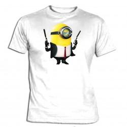 Minions - Camiseta Manga...