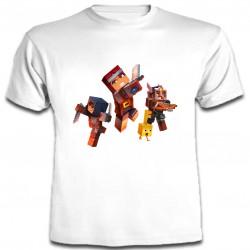 Minecraft - Camiseta Manga...