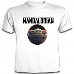 Baby Yoda - Camiseta Manga...